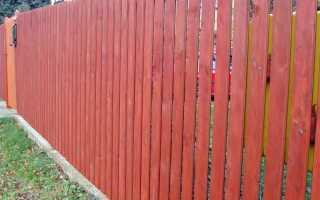 Деревянный забор — идиллический и неприхотливый