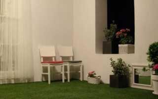 Тканая искусственная трава для вашего сада