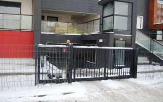 Самонесущие раздвижные ворота