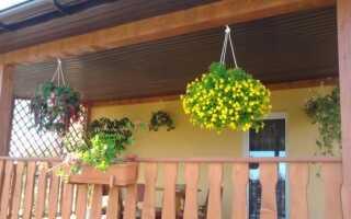 Обустройство террасы или балкона, предназначенного для отдыха