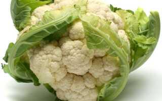 Салат из цветной капусты в уксусе
