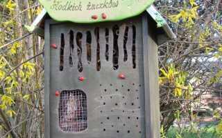 Дом насекомых — сделай сам