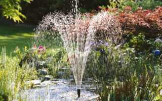 Садовые фонтаны