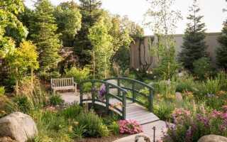Садовый мост