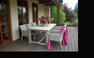 Какая садовая мебель