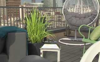 Как обустроить балкон или террасу (ВИДЕО)