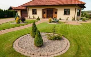 Как должна выглядеть поверхность вокруг дома на одну семью (ФОТО)