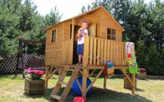 Садовые домики для детей — детская площадка мечты