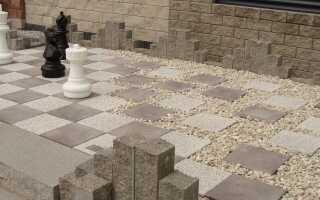 Как использовать бетонные элементы в саду: галерея вдохновения
