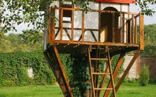 Деревянные дома для детей