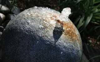 Садовые пружины из камня — как их сделать. руководство