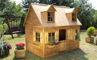 Садовые домики для детей
