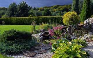 Надеваем рокарий в саду
