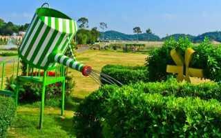 Садовый душ — идеальное решение для жарких дней