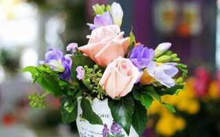 Цветы в вазе — что делать, чтобы оставаться как можно дольше