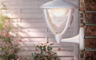 Освещение входа в дом. Позаботьтесь о безопасности и комфорте