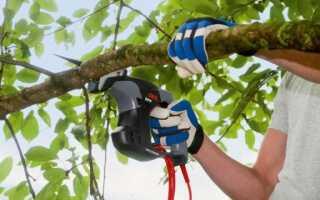 Садовая пила для легкой обрезки веток деревьев и кустарников