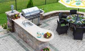 Уголок барбекю во дворе: как это сделать