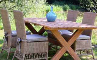 Садовая мебель — жить в саду