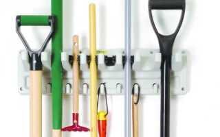 Садовые инструменты: способы их хранения