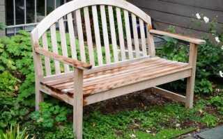 Как подготовить садовую мебель весной. Шаг за шагом