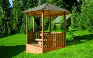 Деревянные конструкции для сада