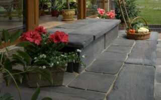 Бетонные элементы для садовых дорожек и террас