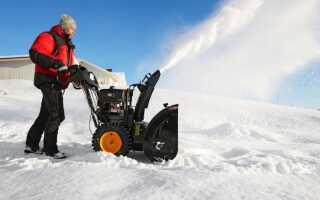 Снегоуборщик — для малых и больших поверхностей