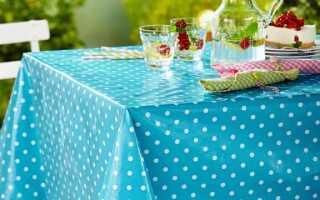 Скатерть для садового стола и стола для пикника. Какая скатерть будет красивой, долговечной и практичной (ФОТО)