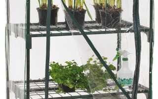 Тепличное хранилище в виде мини-сада с садом, балконом и террасой