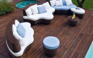 Современная садовая мебель