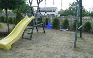 Мы украшаем площадку на заднем дворе. Где это сделать и что на нем найти?