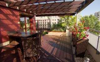 Сад на балконе или террасе — как его настроить и как ухаживать (ВИДЕО)