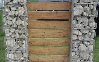 Габионы — ограда из жесткого камня