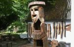 Книжная подставка из ствола дерева. DIY (ФОТО)