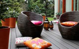 Бамбуковые доски на террасе — пошаговая сборка
