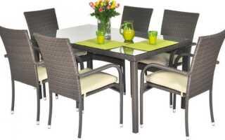 Каков порядок при выборе мебели для сада?
