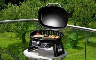 Портативный газовый гриль для приготовления полезных блюд